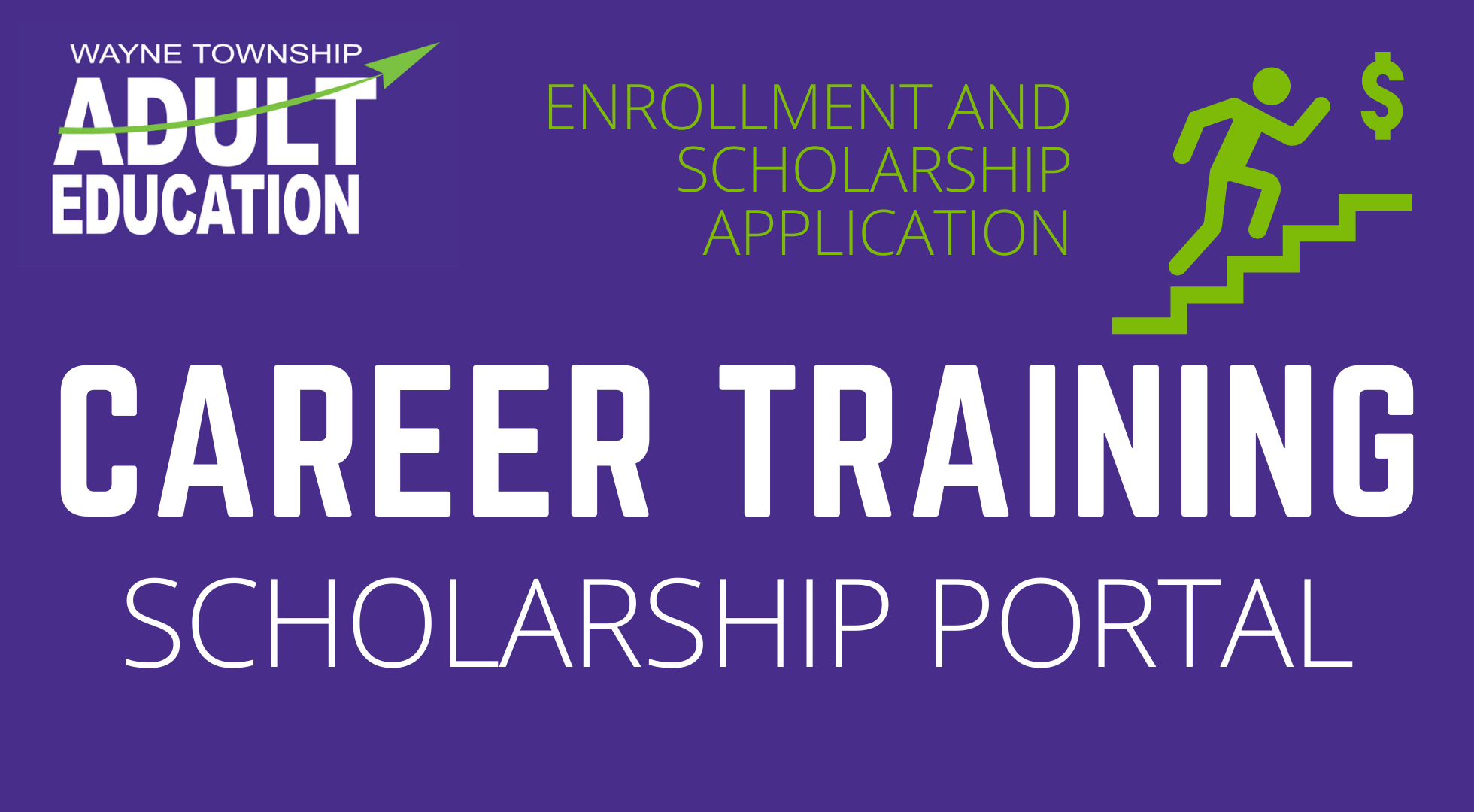 Career Training Scholarship Portal