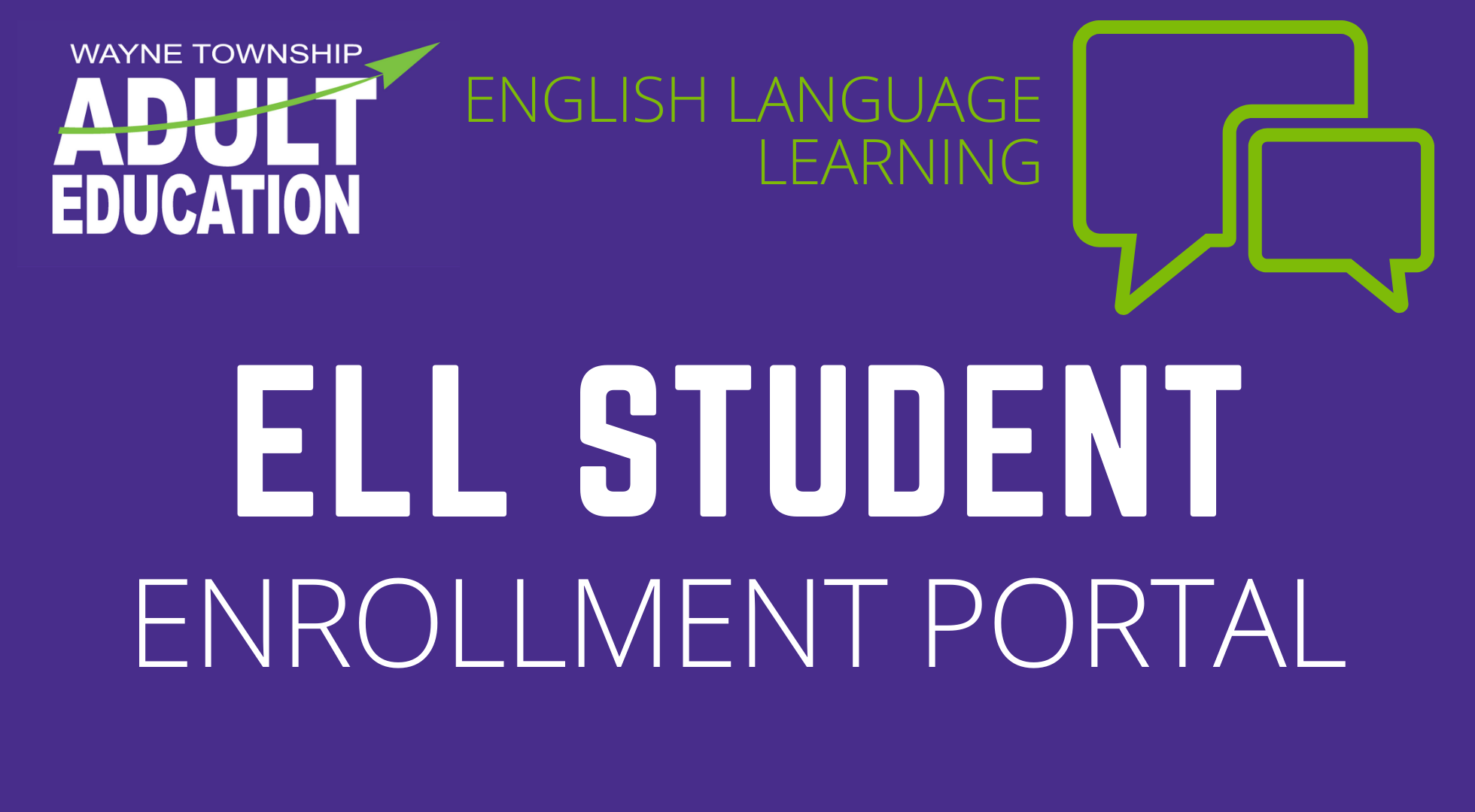 ELL Enrollment Portal