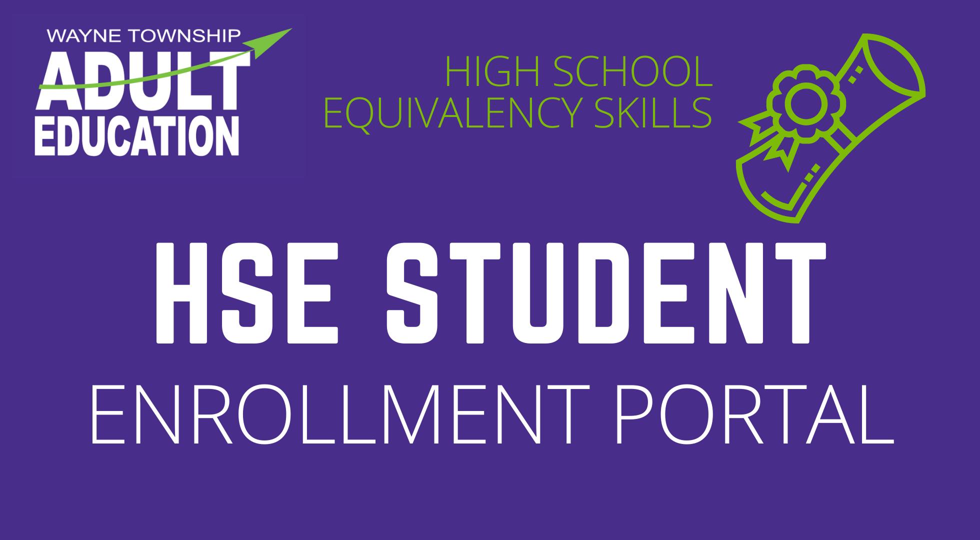 HSE Enrollment Portal