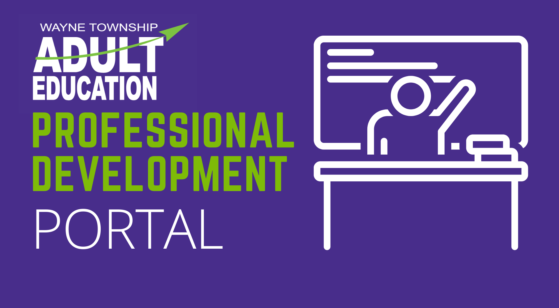 Wayne Township Adult Education Professional Development Portal