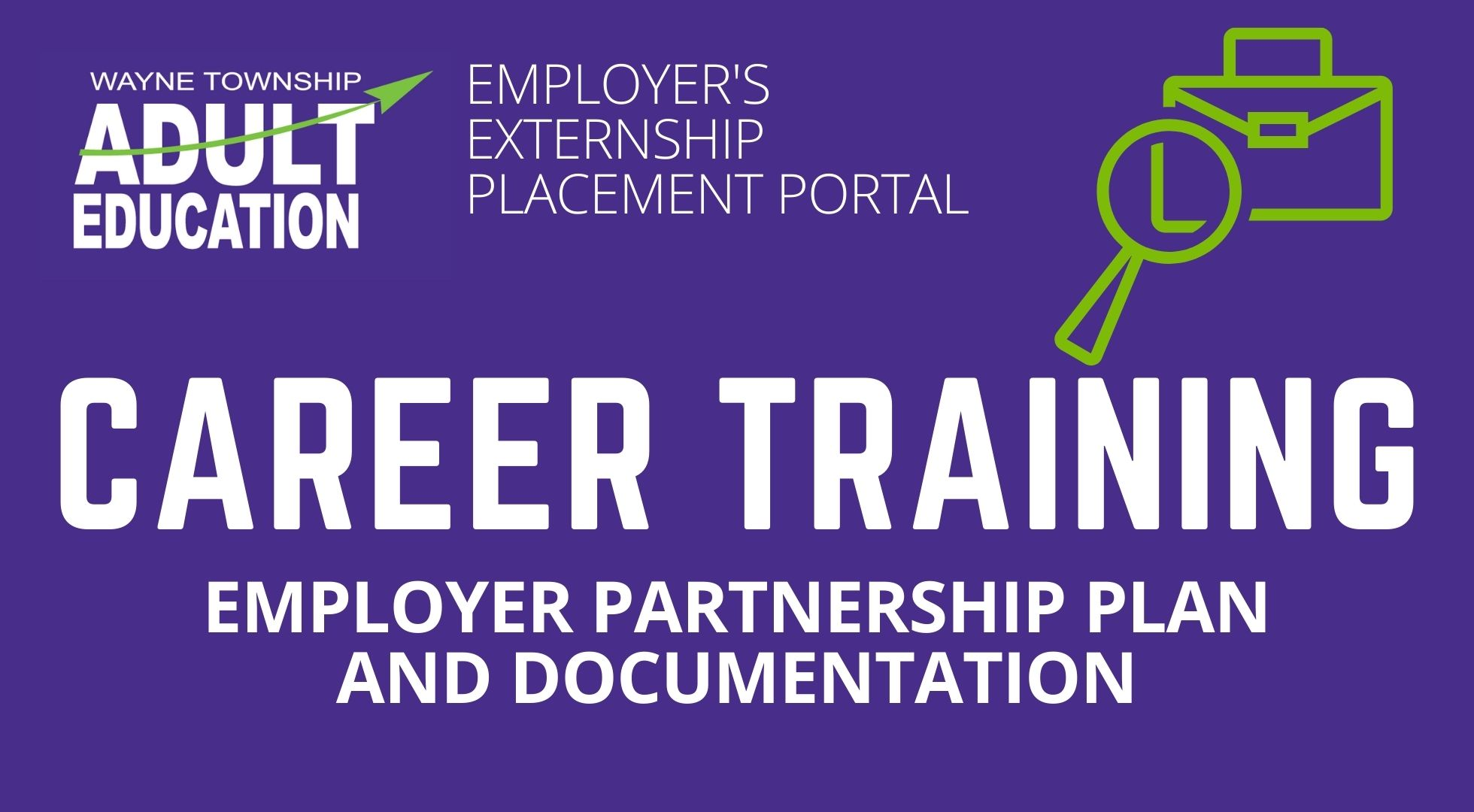 Employer Externship Placement Portal