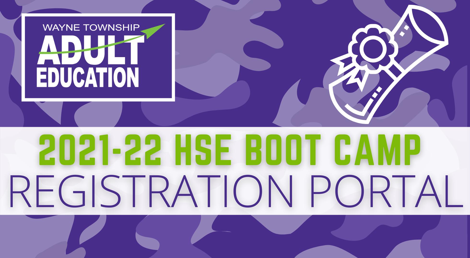 Boot Camp Enrollment Portal